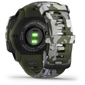 Garmin Instinct Solar Camo GPS Smartwatch, Oliva